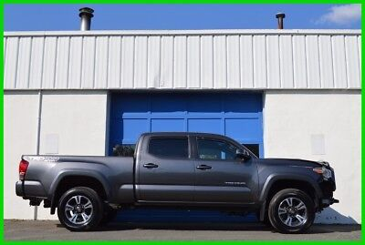 2016 Toyota Tacoma TRD Sport Repairable Rebuildable Salvage Lot Drives Great Project Builder Fixer Easy Fix