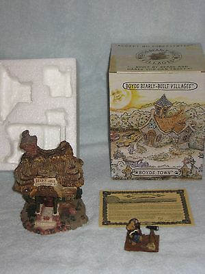Boyds Bears Bearly Built Villages Matthew's Bungalow,