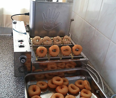 **570 d/hour Fully Automatic Professional Mini Donut Machine EU made, commercial