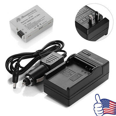 LP-E8 Battery +Charger For Canon Rebel T2i T3i T4i T5i Kiss X5 EOS 550D 650D Hot