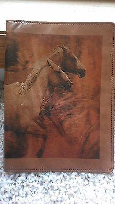 Scully Leather Western Address Book Independence Print