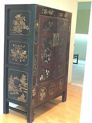 Beautiful Antique Wood Chinese Chest