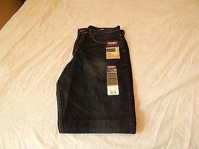Wrangler Mens Jeans Relaxed Straight 34 X 32-NEW