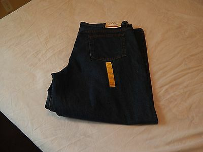Faded Glory Mens Jeans- Relaxed  Denim- 44 X 30 -NEW
