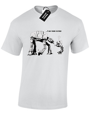 I Am Your Father At-At Kids Childrens T Shirt Top Star Trooper Storm Wars Jedi
