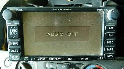 Toyota Camry 30 series 02-06 Sat Nav Car Radio Unit