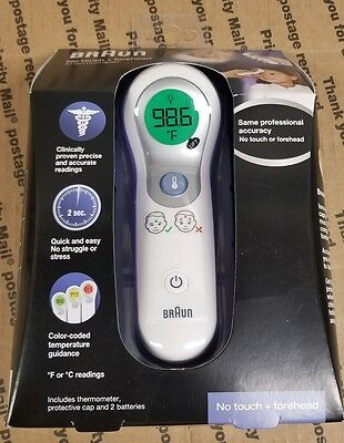 Braun No Touch + Forehead Thermometer NTF3000 BRAND NEW