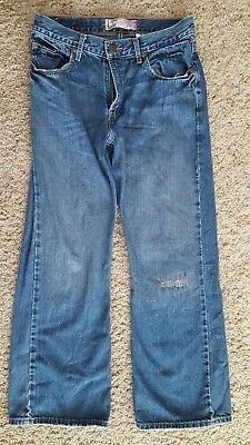 Men's Levi's 527 Boot Cut Jeans Size 16 Regular 28 X 28