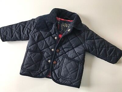 Boy's Next Quilted Jacket 9-12 Months