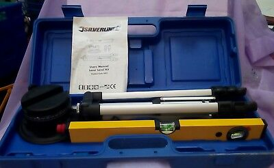 111Silverline Lazer Level Kit In Carry Box