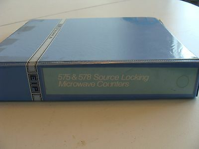 EIP 575 & 578 Source Locking Microwave Counters Operation & Maintenance Manual