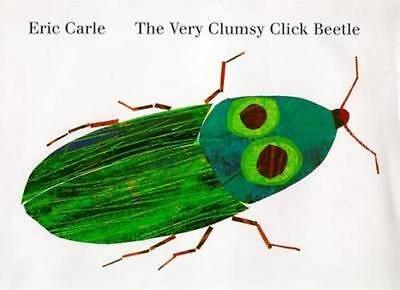 NEW The Very Clumsy Click Beetle By Eric Carle Hardcover Free Shipping