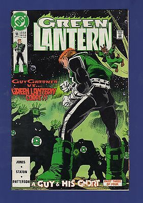 Green Lantern #11 1991 DC Comics Guy Gardner A Guy and His G'Nort Part 3 of 4