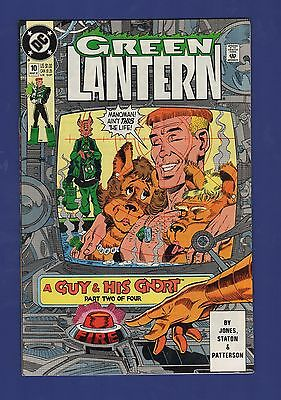 Green Lantern #10 1991 DC Comics Guy Gardner A Guy and His G'Nort Part 2 of 4