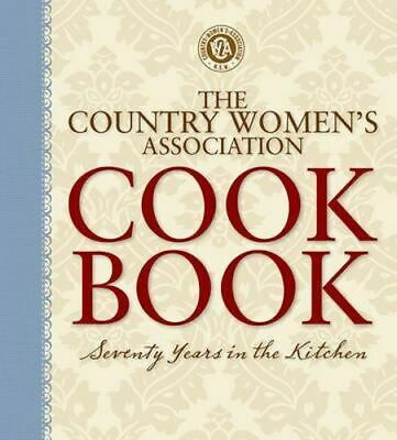NEW Country Women's Association Cookbook By Country Womens Association