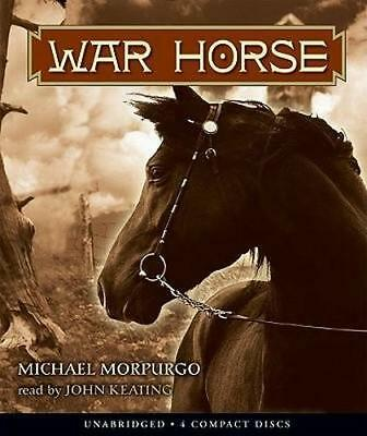 NEW War Horse By Michael Morpurgo Audio CD Free Shipping