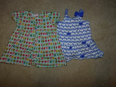 Baby Girl's Lot of 2 Summer Dresses Size 12-18 Months Gymboree, Zatano