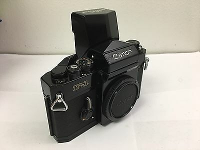 Canon F1  w/Speed Finder, Grid Focus Screen