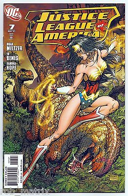JUSTICE LEAGUE of AMERICA #7 NM VOL 2 MICHAEL TURNER 1:10 RETAILER VARIANT!