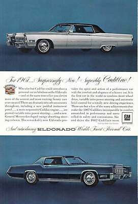 1967 Cadillac Eldorado: Surprisingly New, Superbly (19528) Print Ad