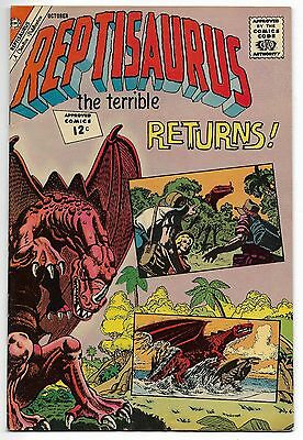 Reptisaurus #7 October 1962 Charlton Comics Fine+....Buy More....Free Shipping!
