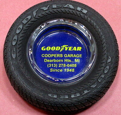 Goodyear Tire Advertising Ashtray