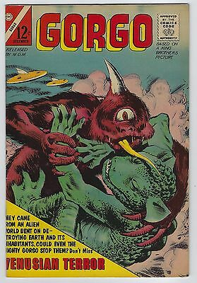 Gorgo #10 December 1962 Charlton Comics Fine/Very Fine