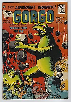 Gorgo #7 June 1962 Charlton Comics Fine/Very Fine