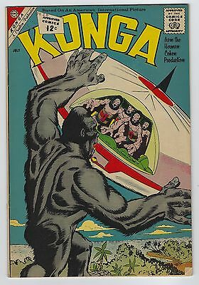 Konga #7 July 1962 Charlton Comics Fine/Very Fine