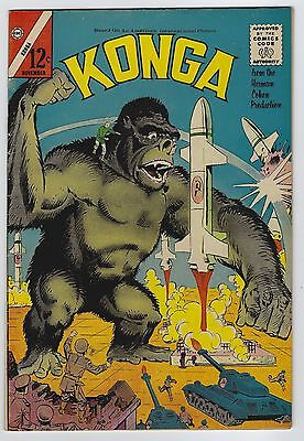Konga #9 November 1962 Charlton Comics Fine/Very Fine