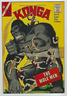 Konga #10 January 1963 Charlton Comics Fine/Very Fine
