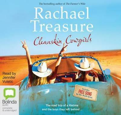 NEW Cleanskin Cowgirls By Rachael Treasure Audio CD Free Shipping