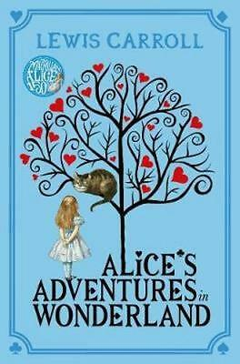 NEW Alice's Adventures in Wonderland By Lewis Carroll Paperback Free Shipping
