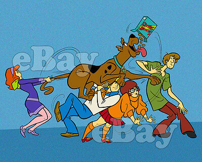 Rare! SCOOBY DOO Cartoon Color TV Photo HANNA-BARBERA Studios SCOOBY SNACKS