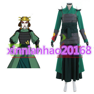 Custom made Avatar The Last Airbender Kyoshi Warriors Cosplay Costume
