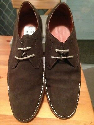 country road s shoes crop db chocolate suede uk 9 in