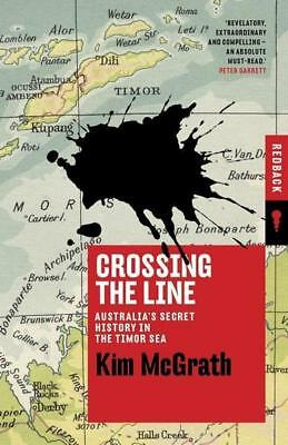 NEW Crossing the Line By Kim McGrath Paperback Free Shipping