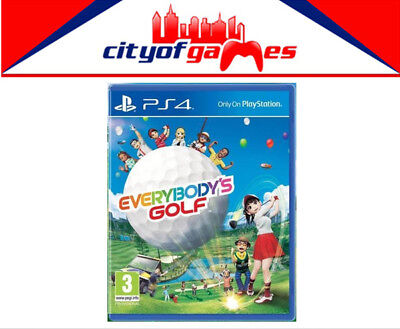 Everybody's Golf PS4 Game New & Sealed Free Express Post In Stock Now