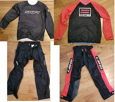 Shift MX Motocross Gear Pant Jersey 32 Large Recon Drift
