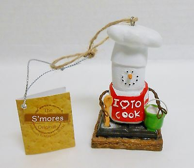 Midwest  Creek S'mores Chef S'more 2015 Christmas Ornament