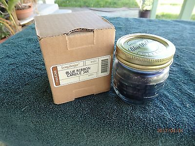 *Longaberger Blue Ribbon Berry Scented Candle