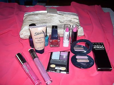 Mixed Makeup X 11 Plus Cosmetic Purse @$6