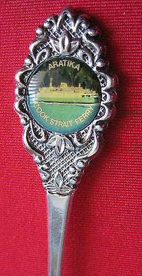 Collectable Spoon - Aratika, Cook Strait Ferry