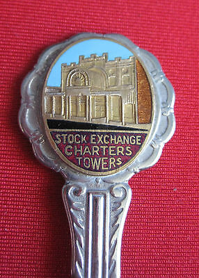 Collectable Spoon - Stock Exchange, Charters Towers