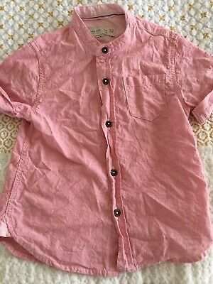 Zara Boys Shirt Size 2-3