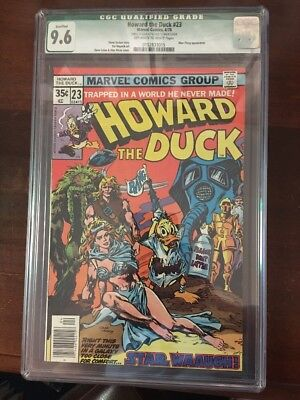 Howard The Duck 23 Star Wars Issue Cgc 9.6