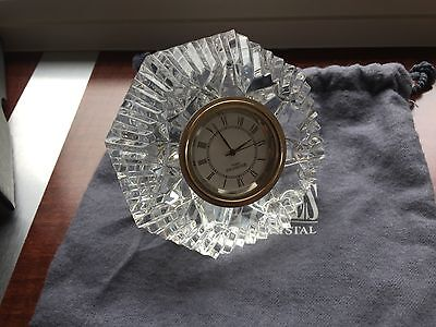 Waterford Crystal Small Crystal Clock