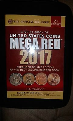 2017 Mega Red Guide Book to U.S. Coins Deluxe 2nd Ed. ISBN-13: 978-0794843922