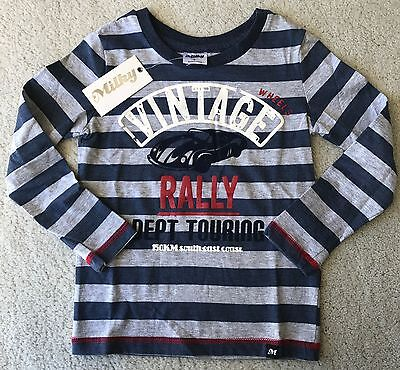 Milky Boys Long Sleeve Tshirt Size 7 Designer Kids Clothing