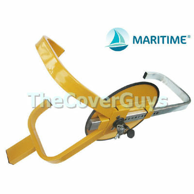 Wheel Clamp Lock Security for Car, Boat, Trailer